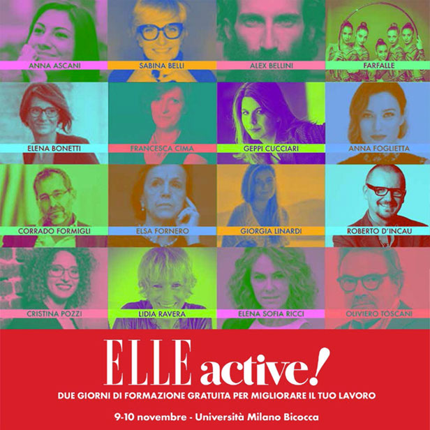Elle Active! Être presente negli appuntamenti dedicati al mentoring