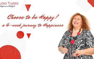 Choose to be Happy! Un percorso di 4 settimane verso la felicità